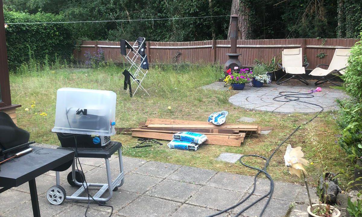 artificial grass installation process
