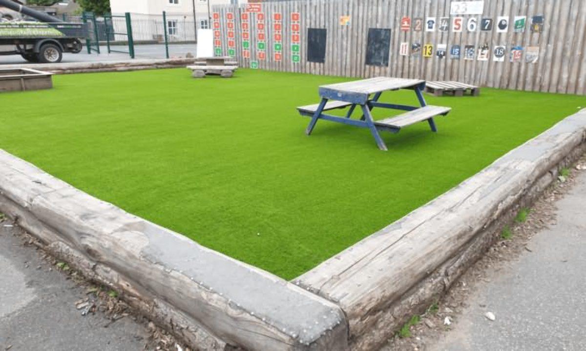 Easigrass Beeston Primary School Artificial Grass2
